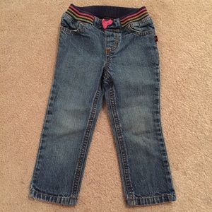 Carter's Pull On Girl's Jeans - Size 18 Months